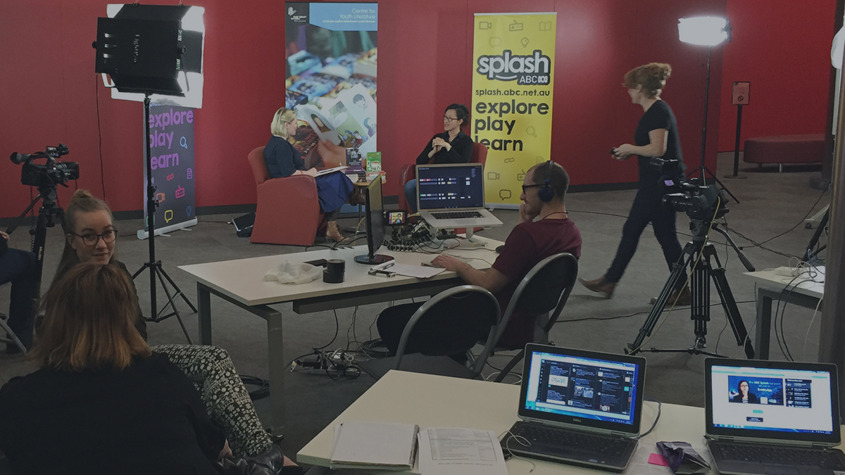 live streaming ABC Splash from State Library of Victoria