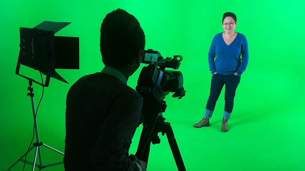 fully serviced green screen cyclorama in Fitzroy, Melbourne